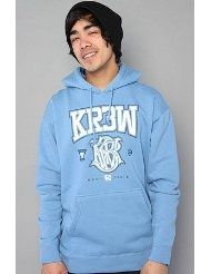 Kr3w Champion Hoody Baby Blue
