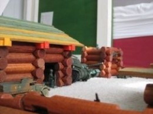 Lincoln Logs building toy