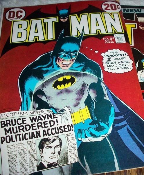 Bat Man Comic Book