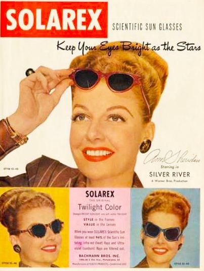 SOLAREX Scientific Sun Glasses (1948)