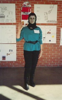 Vulcan Costume Using Mix and Match Knit Outfit