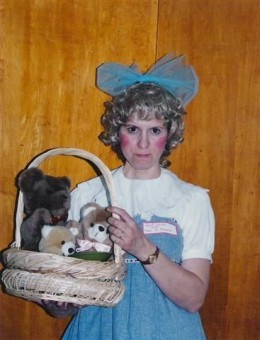 Goldilocks Costume Using Sun dress and Baby Doll Blouse