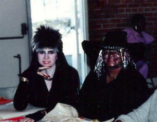 Elvira and Witch