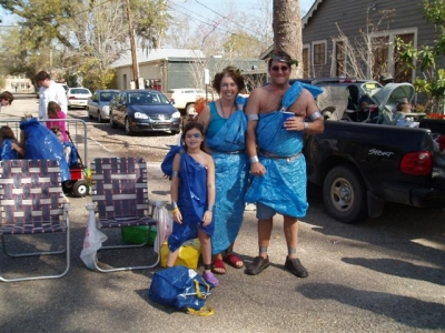 Blue Tarp Togas