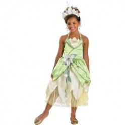 Princess and the Frog Movie Costumes and Cards