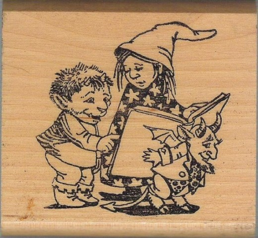Kidstamps Little Witch Stamper
