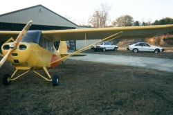 N85753  !946 Aeronca Champ 7AC    Test flown after rebuild Jan. 1998