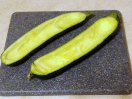 Create Boats Out of Zucchini