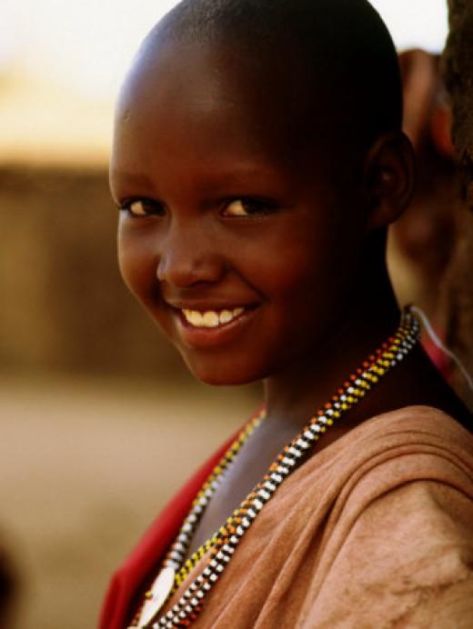 Masai Girl, Masai Mara National Reserve
