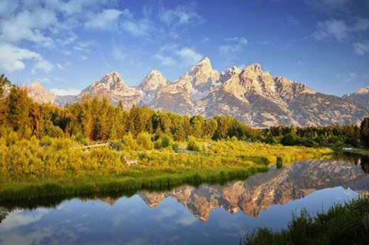 Schwabachers Landing on the Snake River
