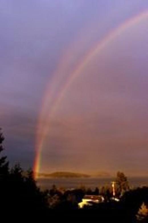 reflection rainbow