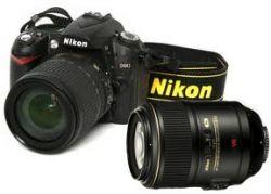 Nikon D90 and macro lens