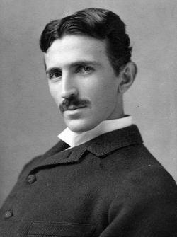 Photograph image of Nikola Tesla