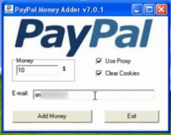 Why PayPal money adder is a scam