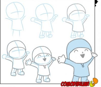 Let's Learn to Draw Pocoyo
