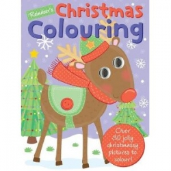 Reindeer Coloring Book