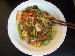 Spaghetti - Korean!  (a la Kim)