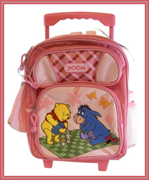 "Winnie the Pooh ""Rolling Backpack"""