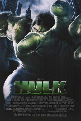 The most expensive art film ever made, The Hulk.