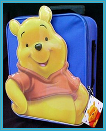 "Winnie the Pooh ""Pilot"" Luggage"
