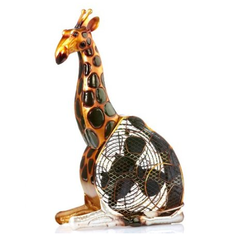 Deco Breeze Giraffe Figurine Fan