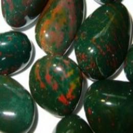 Aquamarine and bloodstone birthstone jewelry