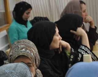 Afghan women celebrate Mother's Day in Panjshir.