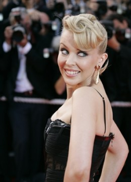 KYLIE  MINOGUE ( Breast Cancer )