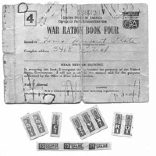 WW II Ration Booklet