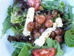 Salad - Feta, Grilled Grapes