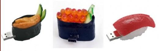 Favorite Sushi USB Flash Drives