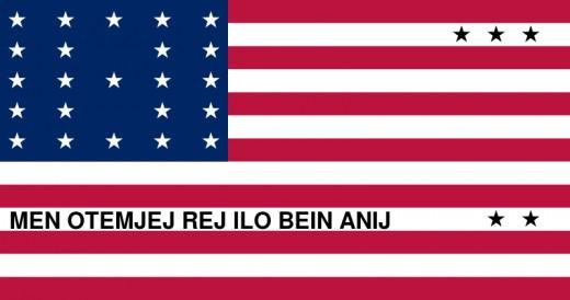 Flag of Bikini Atoll