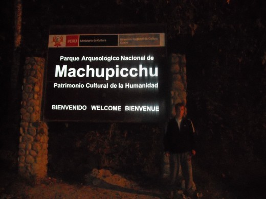 Machu Picchu Sign From Personal Archives