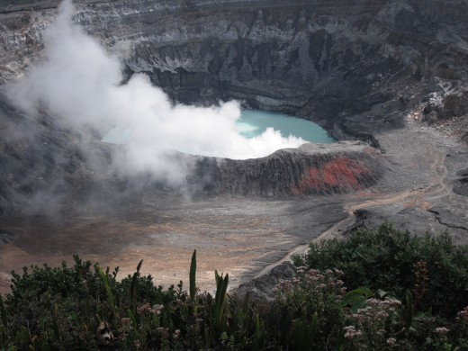 Active Volcano In Costa Rica-Courtesy Of Personal Archives