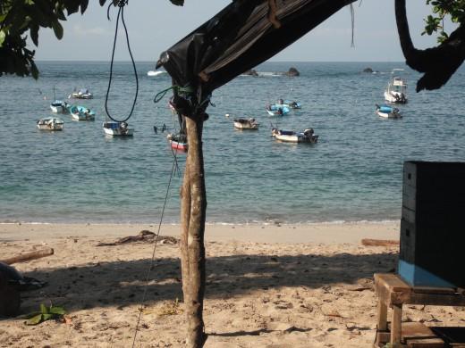 The fishermen's beach.