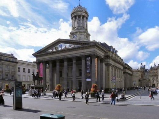 The Gallery of Modern Art, Royal Exchange Square, Glasgow