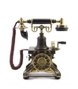 A vintage Edwardian telephone
