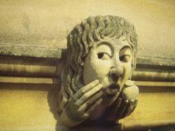 Grotesque on an Oxford wall