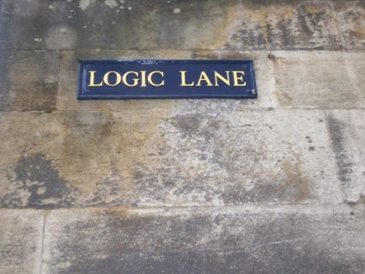 One of the great things about Oxford is its many eccentric and unusual road names. Logic lane happens to be one of my favourites, but other gems include 'Turn again lane' and 'Dead man's walk'.