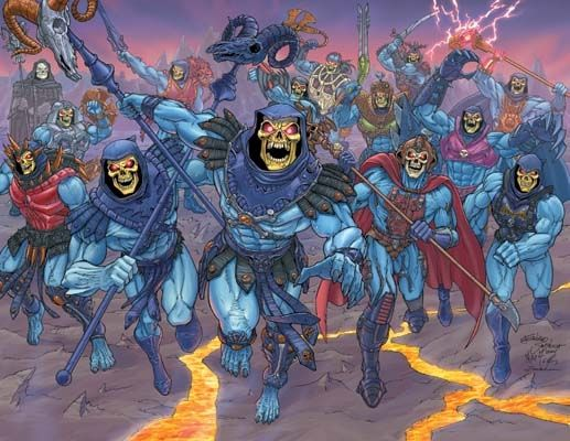 Skeletor Through the Ages