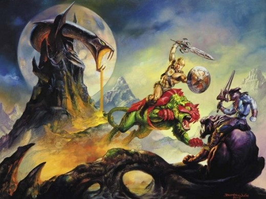 Skeletor vs He-Man