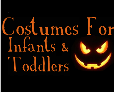 Costumes for infants and toddlers