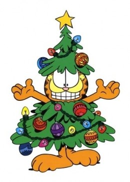 Garfield Christmas Tree