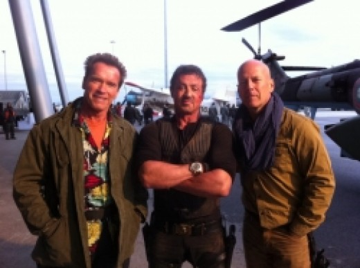 Stallone, Schwarzenegger and Willis