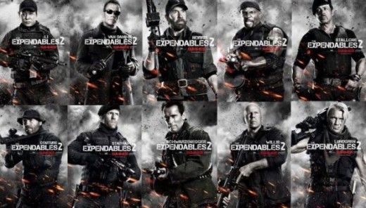 The Expendables Movie Posters