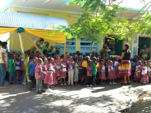 Bandana day at school