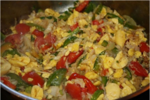 ackee and saltfish recipe, Jamaica's national dish