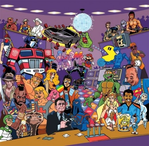 Saturday morning cartoons from the 80s!