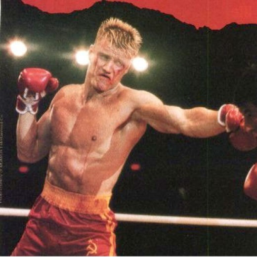 Ivan Drago as portrayed by actor Dolph Lundgren