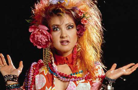"""Photos from Cyndi's """"Girls Just Want to Have Fun"""" video, and some others. Photos will be added periodically.   Enjoy!"""